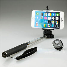 SELFIE SELFY STICK MONOPOD BLUETOOTH WIRELESS REMOTE MOBILE PHONE HOLDER NEW UK