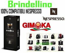 200 coffee capsules GIMOKA ESPRESSO compatible with all machines Nespresso pods