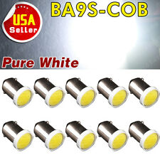 10 X White T11 BA9S COB Chip High Power 2W LED Bulb Lamp DC12V T4W 3886X H6W 363