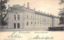 B13383 Franzensbad Cartllier Badehaus  czech republic
