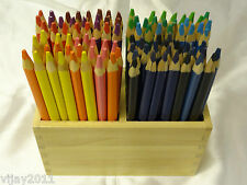 48 Triangle Grip Jumbo Kids Coloured Pencils
