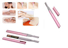 Electric Lady Afeitadora Bikini Piernas Cejas Shaper Trimmer Hair Remover Pack Regalo