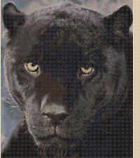 Cross Stitch Chart -Black Panther - No.244-......TSG37