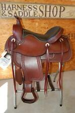 "16"" G.W. CRATE ARAB PLEASURE SADDLE TRAIL CUSTOM MADE IN AMERICA FREE SHIP"