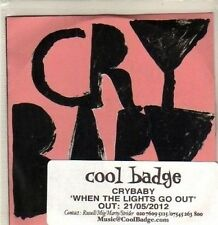 (CP607) Vrybaby, When The Lights Go Out - 2012 DJ CD