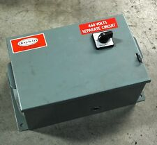 Daykin LTFS-07 460 Volts Separate Circuit Transformer Disconnect - USED