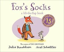 Tales from Acorn Wood: Fox's Socks New Board Book Axel Scheffler