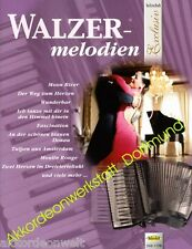 Valzer-melodie, voti per fisarmonica, sheet music book for Accordion, VHR 1775