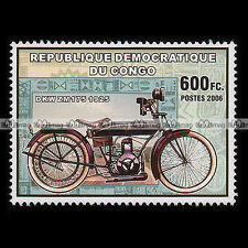 ★ DKW ZM 175 1925 ★ CONGO Timbre Moto Collection Classic Motorcycle Stamp #269
