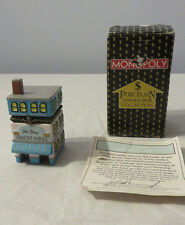 Porcelain Hinged Box Collection  - Monopoly Vermont Ave. with Box and Title Deed