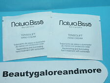 2 NATURA BISSE TENSOLIFT HAND CREAM TREATMENT WITH SPF 15  0.07 EA SAMPLE