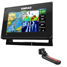 Simrad GO7 XSE Chartplotter/Fishfinder w/TotalScan Transom Mount Transducer 000-