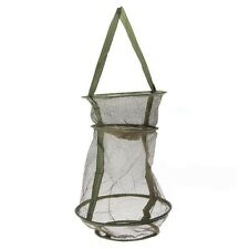 Hot sale Collapsible Fresh Water Nylon Practical Floating Fish Basket Mesh Net