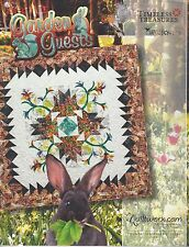 Garden Guests Foundation Paper Pieced Quilt Pattern by Judy Niemeyer NEW