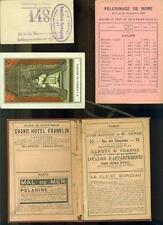 PUBLICITE ANCIENNE BAINS DE MER DINARD PELERINAGE ROME 1901 IMAGE BOLOGNE