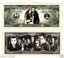Twilight One Million Dollar Bill Note $1000000