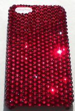SIAM RED Crystal Rhinestone Bling Back Case for iPhone 5 5S w/Swarovski Elements