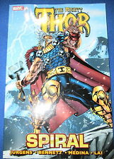 THE MIGHTY THOR: SPIRAL Trade Paperback