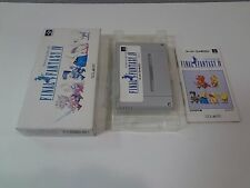 Final Fantasy IV Nintendo Super Famicom Japan /C