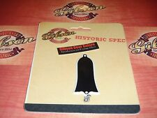 Gibson Les Paul Historic 1959 Reissue Truss Rod Cover Black Guitar Parts R8 T R9