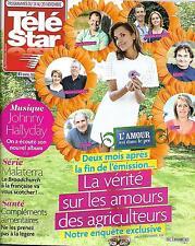 TELE STAR N°2041 14 NOVEMBRE 2015  L'AMOUR EST DANS LE PRE/ MALATERRA/ NEWMAN