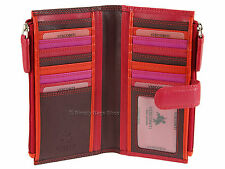 Visconti Boxed Bifold Womens Ladies Leather Purse Wallet For Cards Notes - RB100