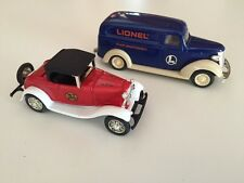 ERTL 1932 Ford & 1938 Chevrolet Delivery Van by Eastwood Automobilia