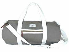 Duffle Bag by Chad Hayward - Olive Canvas Barrel Holdall for Travel, Gym, Sports