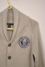 P351/45 Gap Kids Knit Boy's Beige Cardigan, age 8-9