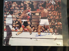 MUHAMMAD ALI AUTOGRAPH PHOTO 1976 YANKEE STADIUM vs Ken Norton *PSS COA*