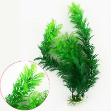Fish Tank Aquarium Decor Accessories Artificial Plastic Underwater Grass Plant