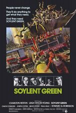 SOYLENT GREEN Movie POSTER 27x40 Charlton Heston Leigh Taylor-Young Chuck