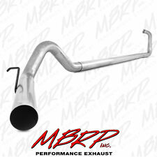 MBRP Exhaust 4 Inch Turbo Back No Muffler 03-07 Ford Powerstroke 6.0L Diesel