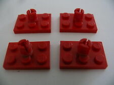 Lego 4 rotors rouge set 6685 373 386 6691 / 4 red rotor holder