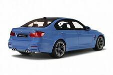 GT SPIRIT GT055 - BMW M3 SALOON F80 - 2014 1/18 BLUE RESIN MODEL LIMITED EDITION