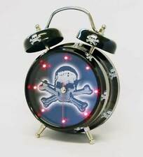 Novelty Skull and Crossbones Alarm Clock