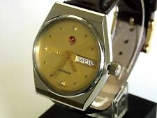N.O.S. VINT 70´s RADO VOYAGER 636 WATCH SWISS, AUTOMATIC, 25 JEW, DATE-DAY, WR,