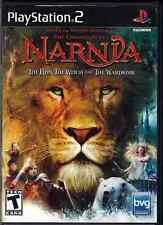 NARNIA The Lion The Witch and the Wardrobe Playstation 2 VIDEO GAME Box & Book