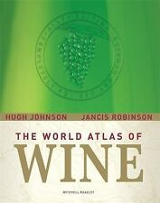 The World Atlas of Wine by Hugh Johnson and Jancis Robinson (2007, Hardcover, Re