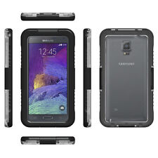 IP-68 100% Waterproof Phone Case For Samsung Galaxy Note 2 Note 3 Note 4 Black