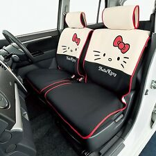 Sanrio Hello Kitty Kawaii front seat cover 4063-52BK car accessorry from Japan