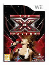 X FACTOR Singing Sing Songs SOLUS NINTENDO WII Video Game Original UK Release