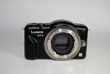 Panasonic LUMIX DMC-GF3 12.1 MP Digital Camera - Black (Body Only )
