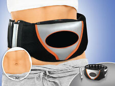 PROFESSIONAL VIBRO BELT SHAPE SLIMMING VIBRATION BODY TONING TONE BELT WITH CASE