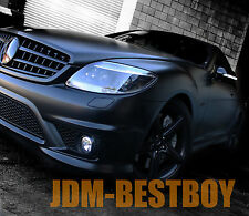 "48""x60"" FLAT MATTE BLACK Vinyl Sticker Wrap w/ Air Bubble Release Hood Roof"