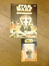 THE CLASSIC STAR WARS FIGURINE COLLECTION W MAGAZINE GENERAL GRIEVOUS ISSUE 15