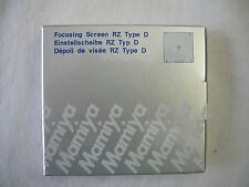 """BRAND NEW"" Mamiya RZ67 + Cross Focusing Screen Type D ""NEW"" 212-425 / all RZ67"