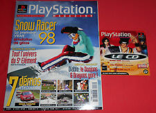 Playstation Magazine [n°17 Fév 98] PS1 Snow Racer 98 Diablo Tekken 3  *JRF