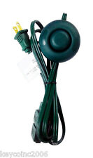 6 ft. Green Extension Cord with foot switch 16 gauge