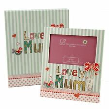 "Lovely MUM 6 X 4"" Photo Frame With Matching  Gift Box Mother's Day"